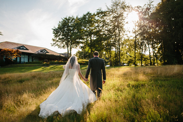 A wedding at The Mere golf resort and Spa