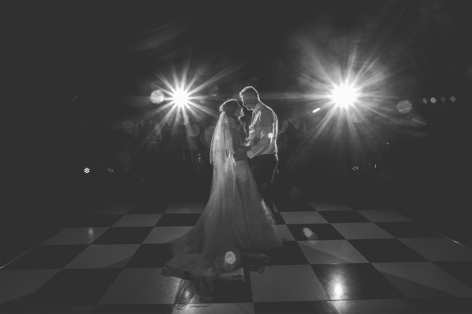 The first dance for the new Mr and Mrs at Nunsmere hall